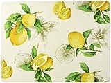 Benson Mills Lemon Cork Placemat, 11.8-inch by