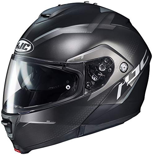 Photo HJC is-MAX 2 Modular Helmet - Dova (Small) (Black/Silver)