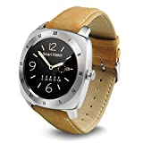 FENGSHI Original Android Smartwatch 1.3 Inch Touch Screen Android 4.4 OS 512MB+4GB MTK6572 Smart Watch with SIM Slot Wifi Bluetooth Heart Rate
