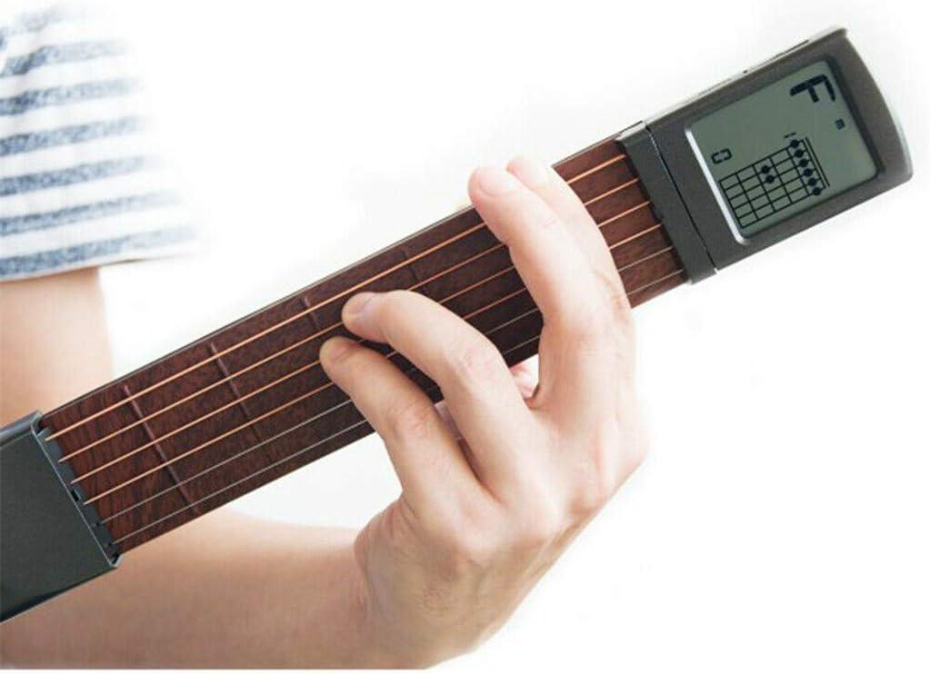 MXJEEIO 🎸 Mástil de guitarra, de bolsillo, para practicar escalas ...