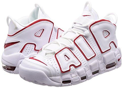Schuhe Weiß Größe Rot 43 Uptempo More Nike – ´96 Air Weiß dwF84z