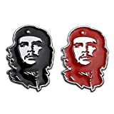 Che Guevara Quotes Car Decals Car Stickers for Trucks Motorcycles Tattoo Sticker Face Car Decorations Car Accessories Waterproof Stickers Metal Emblem Badge 2pcs【1797】