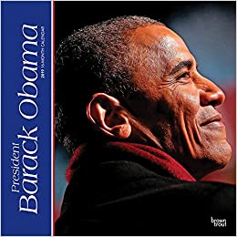 president barack obama 2019 12 x 12 inch monthly square wall calendar usa united states of america famous figure multilingual edition