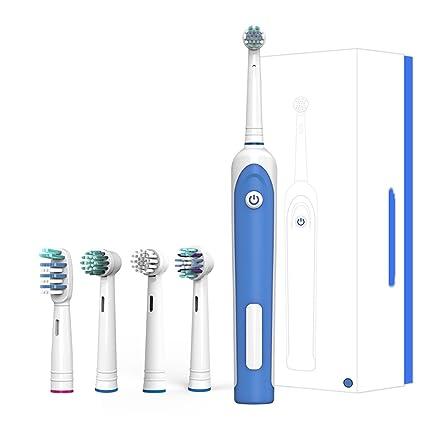 Cepillos de dientes eléctricos rotativos Adultos Cepillo de dientes recargable Limpiar los dientes como un dentista
