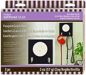 Sculpey Keepsake Pawprint Leash Hook Kit