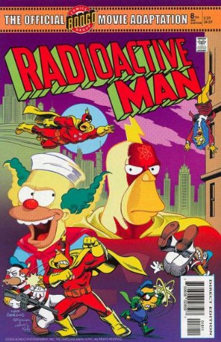 Radioactive Man The Official Movie Adaptation 8th Big Edition (The Simpsons, 8) ebook