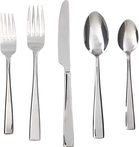 Cambridge Silversmiths Cali Mirror 30-Piece Flatware Silverware Set
