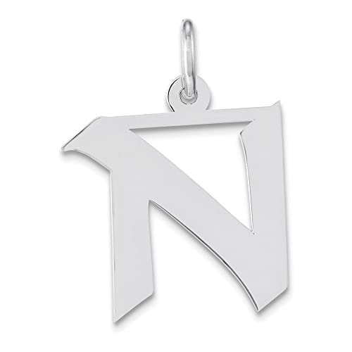 Jewelry Adviser Charms Sterling Silver Initial I Charm