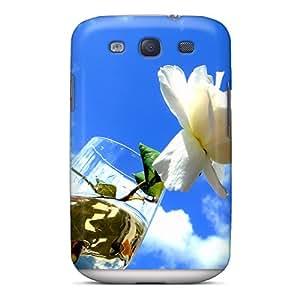 New The Sky Flower Tpu Case Cover, Anti-scratch UFl1623KzfF Phone Case For Galaxy S3