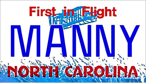 Personalized North Carolina Refrigerator Magnet State License Plate ()