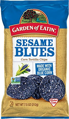 Garden of Eatin' Sesame Blues Corn Tortilla Chips, 7.5 oz. (Pack of 12) from Garden of Eatin'