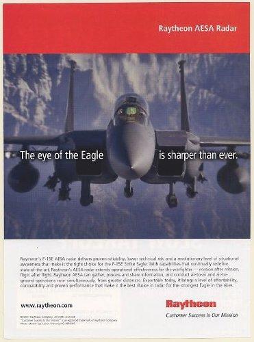 2007-f-15e-strike-eagle-aircraft-raytheon-aesa-radar-eye-is-sharper-print-ad-memorabilia-58048
