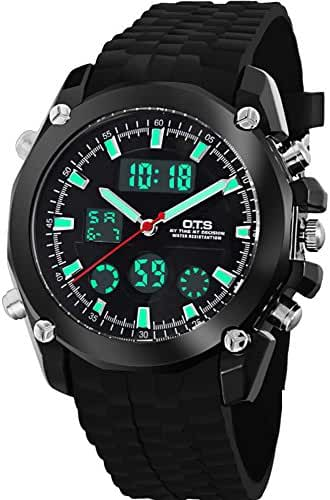 Youth outdoor sports watches/Fashion waterproofledElectronic watches-D