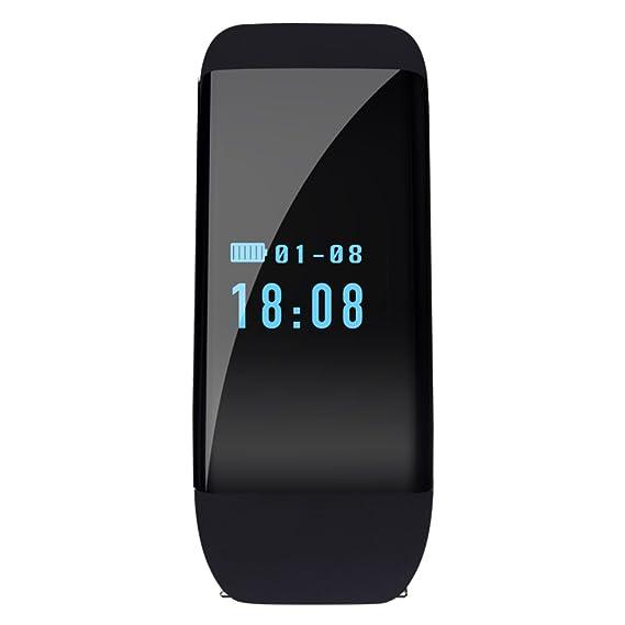 relojes inteligentes para los hombres/Relojes electrónicos de múltiples funciones/Relojes de pulso de estimulación el contador del agua-D: Amazon.es: ...