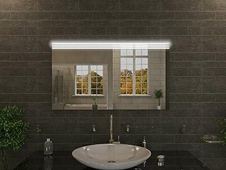 Bagno specchio con illuminazione alysia f n design specchio