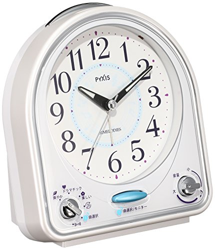 Seiko CLOCK clock melody 31 songs ! Analog alarm clock  NR43