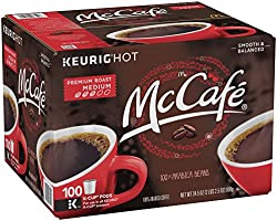 McCafe Premium Roast Coffee, K-CUP PODS, 100 Count
