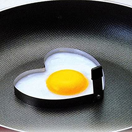 4PCS Mold Ring Cooking Fried Egg Shaper by 2 Tone Family