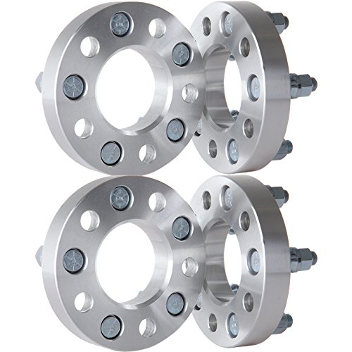 SCITOO Replacement Parts for 4X 1 inch 5x4.5 to 5x4.5 Hubcentric Wheel Spacers 5x114.3mm 1/2
