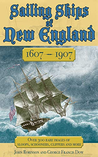 Sailing Ships of New England - Military Lithograph