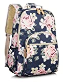 Leaper School Bookbags for Girls, Large Fashion Floral 15.6 inches Laptop Backpack College