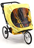 BOB Weather Shield For Duallie Sport Utility Stroller Models in Yellow