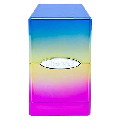 Ultra Pro Hi-Gloss Rainbow Satin Tower Deck Box: Home Improvement
