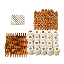 Lotos Set of Nozzle Electrode Cup and Ring 150pc LCON150 for LT5000D, CT520D, LT3200