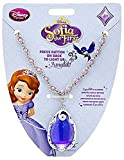 Disney Princess Sofia the First Amulet Necklace with Rhinestone-Accented Pendant