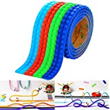 [Sponsored](4 Piece) Block Tape for Lego Bricks With Improved Non-Toxic Adhesive (3.2ft/roll)...