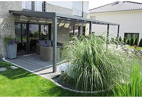 AluMaRo Edition - Cubierta para terraza (aluminio, con planchas ...