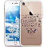 iPhone 6S Case,iPhone 6 Case,ikasus Xmas Christmas Snowflake Serie,Soft Silicone Rubber Bumper Case,Crystal Clear Soft Clear Silicone Back Case Cover for iPhone 6S / 6 4.7',Christmas Lantern Letters