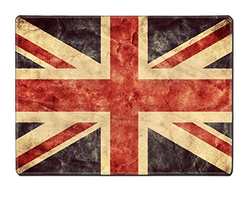 MSD Natural Rubber Placemat IMAGE ID: 31476903 The United Kingdom or Union Jack grunge flag Vintage retro style High resolution hd quality Item from my grunge flags collection