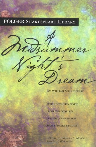 A Midsummer Night's Dream (Folger Shakespeare - Store Department Athens