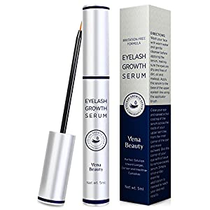 Advanced Eyelash & Eyebrow Growth Serum (5ml ) Conditioner Enhancer For Lush Voluminous Long Brow & Lash Boost Primer 3 Month Supply