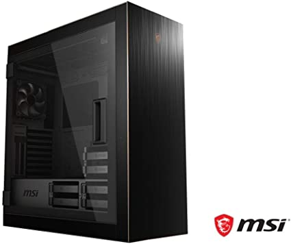 MSI MPG SEKIRA 500G Mid-Tower Caja de PC Gaming (Negro, 2 x 200 mm +