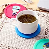 OrliverHL 3 Colors Cotton USB Powered Cup Warmer Electric Insulation Coaster Warm Cup Heating Office Coffee Tea...