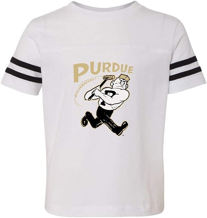 NCAA Purdue Boilermakers PURLEG09 Toddler Football Jersey Tee