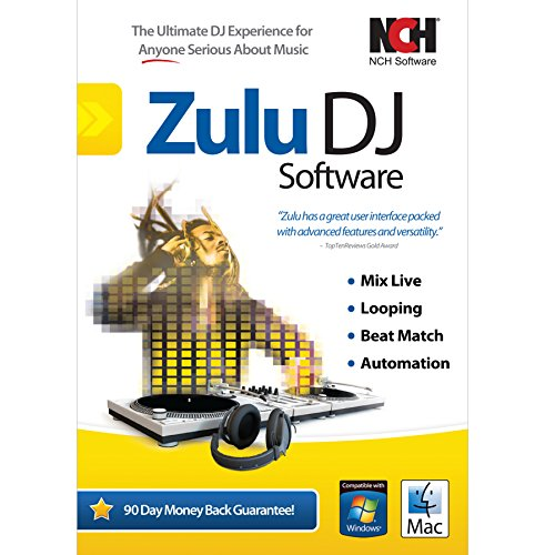 Professional Audio Mixing Software - Zulu DJ Software - Complete DJ Mixing Program for Professionals and Beginners [Download]