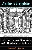 Front cover for the book Catharina von Georgien Oder bewehrete Beständigkeit by Andreas Gryphius