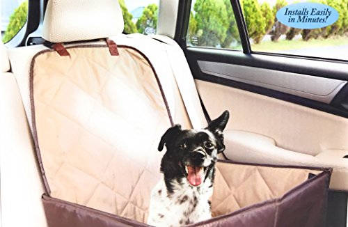 Ideas In Life Dog Car Seat Cover - 2 in 1 Bucket Seat Cover and Car Pet Seat - With Seat Anchor Strap and Dog Leash Connector by Ideas In Life (Image #8)