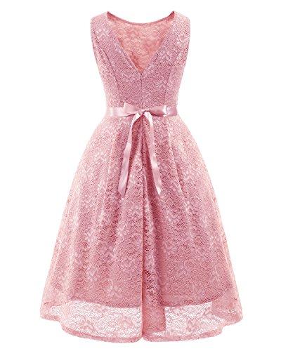 Kleid spitze knielang cocktail