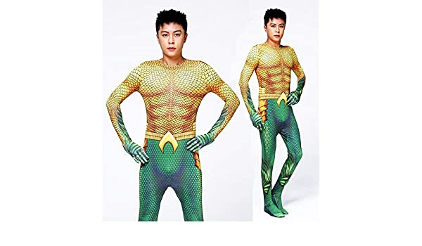 Lydias Anime Cosplay Ropa Aquaman Cosplay Costume DC Right ...