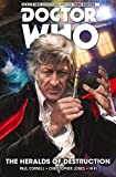 img - for Doctor Who: The Third Doctor Volume 1 - The Heralds of Destruction (Doctor Who New Adventures) book / textbook / text book