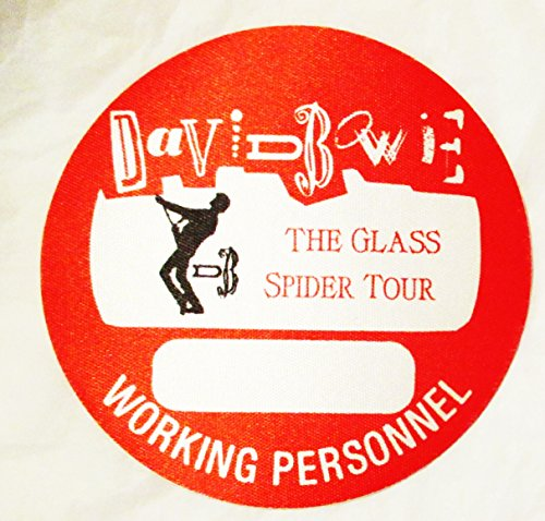 Glass Stage (1987 David Bowie Backstage Pass Glass Spider Tour Working Red)