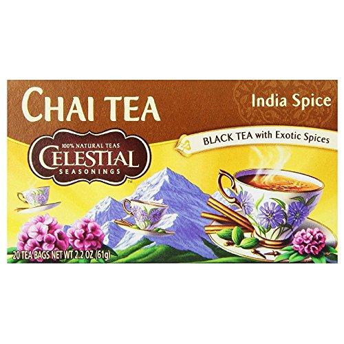 Celestial Seasonings India Spice Chai Tea Bags - 20 ct