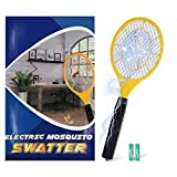 Bug zapper- Electric Fly Swatter ,handheld Insect Fly Killer, Mosquito Zapper against Flies,Bugs,Bees and Other Pest,Unique 3-Layer Safety Mesh Safe to Touch for Indoor and Outdoor Pest Control