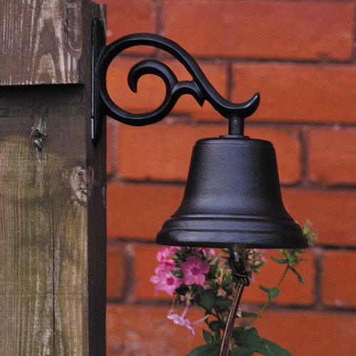 Whitehall Products, Medium Aluminum Bell 00614, 5 inches diameter with 6 inch (Outdoor Medium Bracket)