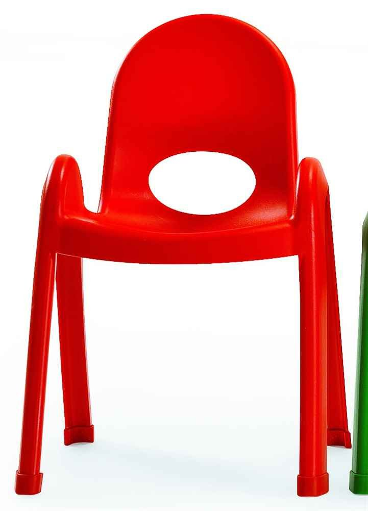13 in. Kids Chair (Candy Apple red)