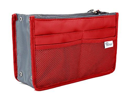 Periea Handbag Organizer - Chelsy (Large, Red)